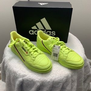 Adidas Continental 80 Men's 11 Neon Green